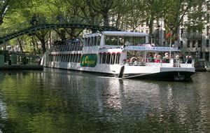 Cruise on the Canal Saint Martin & River Seine