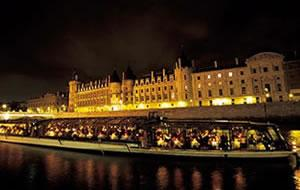 Bateaux Parisiens Paris Illuminations Dinner Cruise